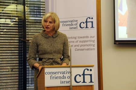 "Theresa ""Friend of Israel"" May"