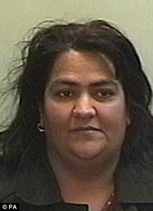 Farah Khan, 43, was jailed for eight months