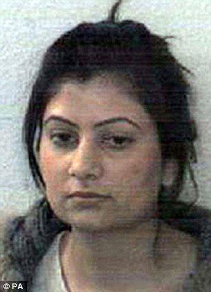 Briton Nadia Qureshi, 28, who was jailed for six months after she pleaded guilty to assisting unlawful immigration