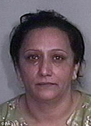 Briton Sabiha Khan, 46, was jailed for eight months