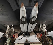 GBU-39 missiles being mounted on British fighters